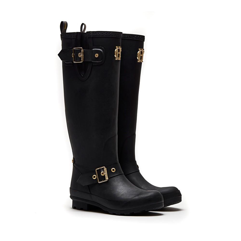 Holland Cooper Sherpa Lined Regency Wellington Boots