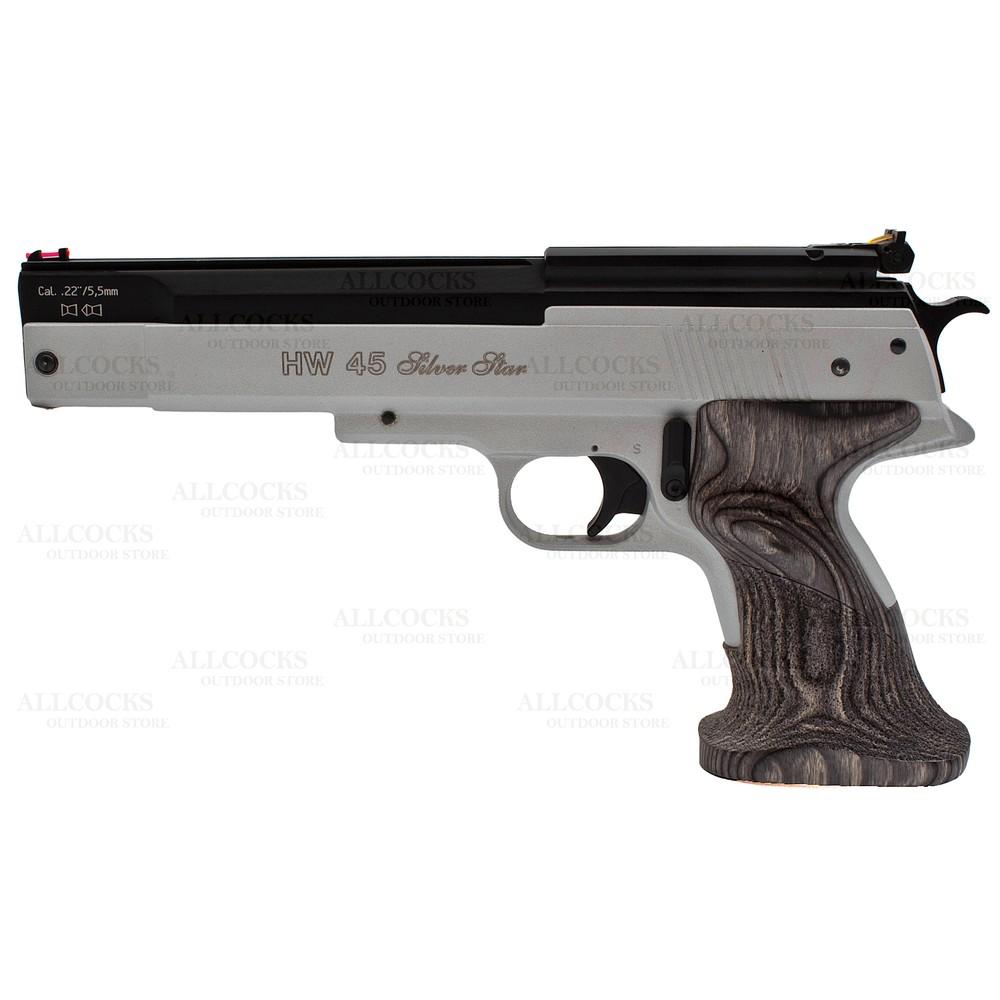 Weihrauch Pre-Owned  HW45 Silver Star Air Pistol - .22 Silver