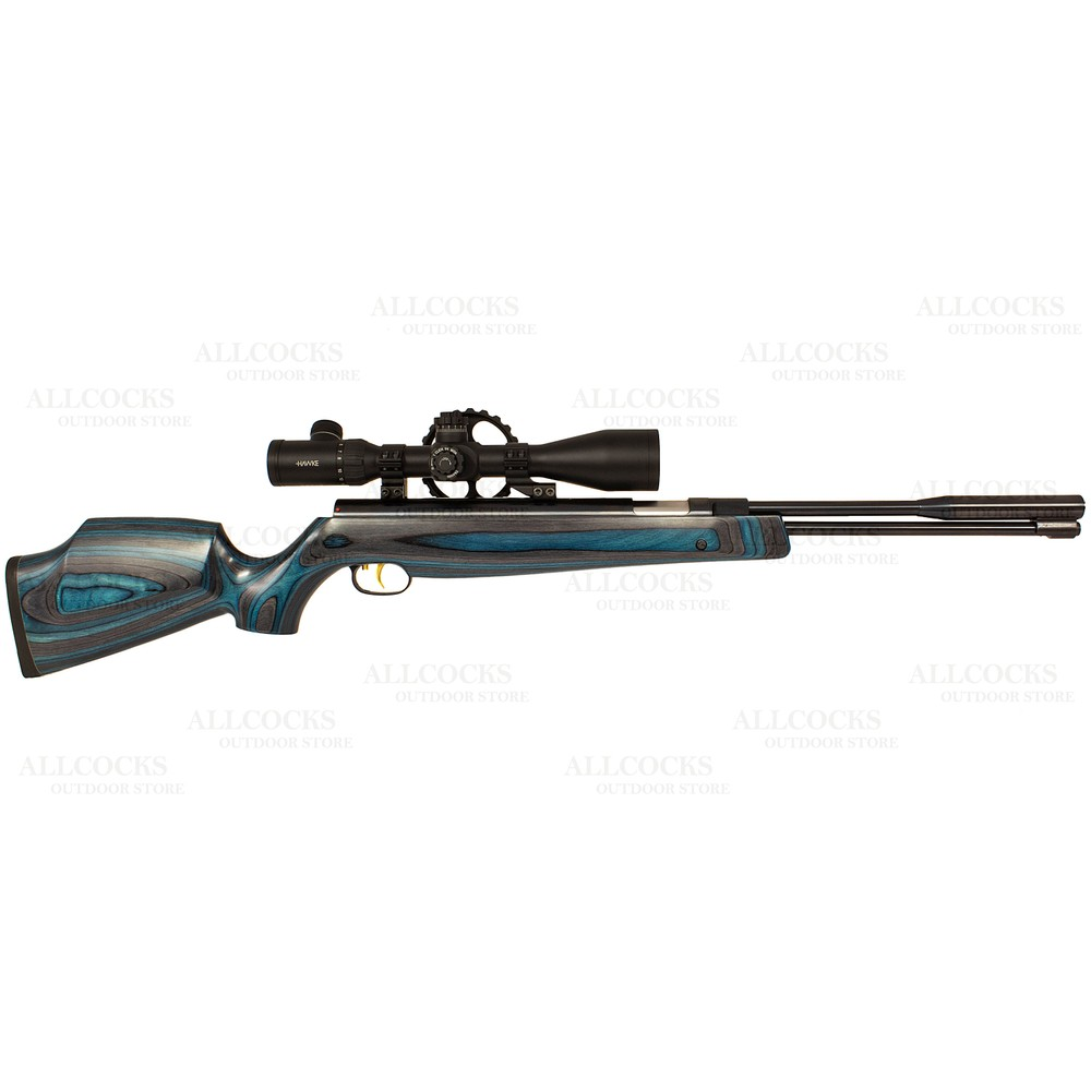 Weihrauch Pre-Owned  HW97 K Blue Laminate Air Rifle - .22