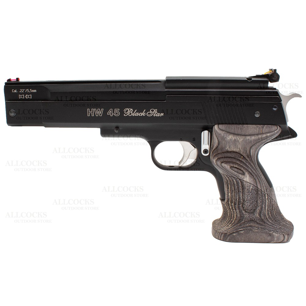 Weihrauch Pre-Owned  HW45 Black Star Air Pistol - .22
