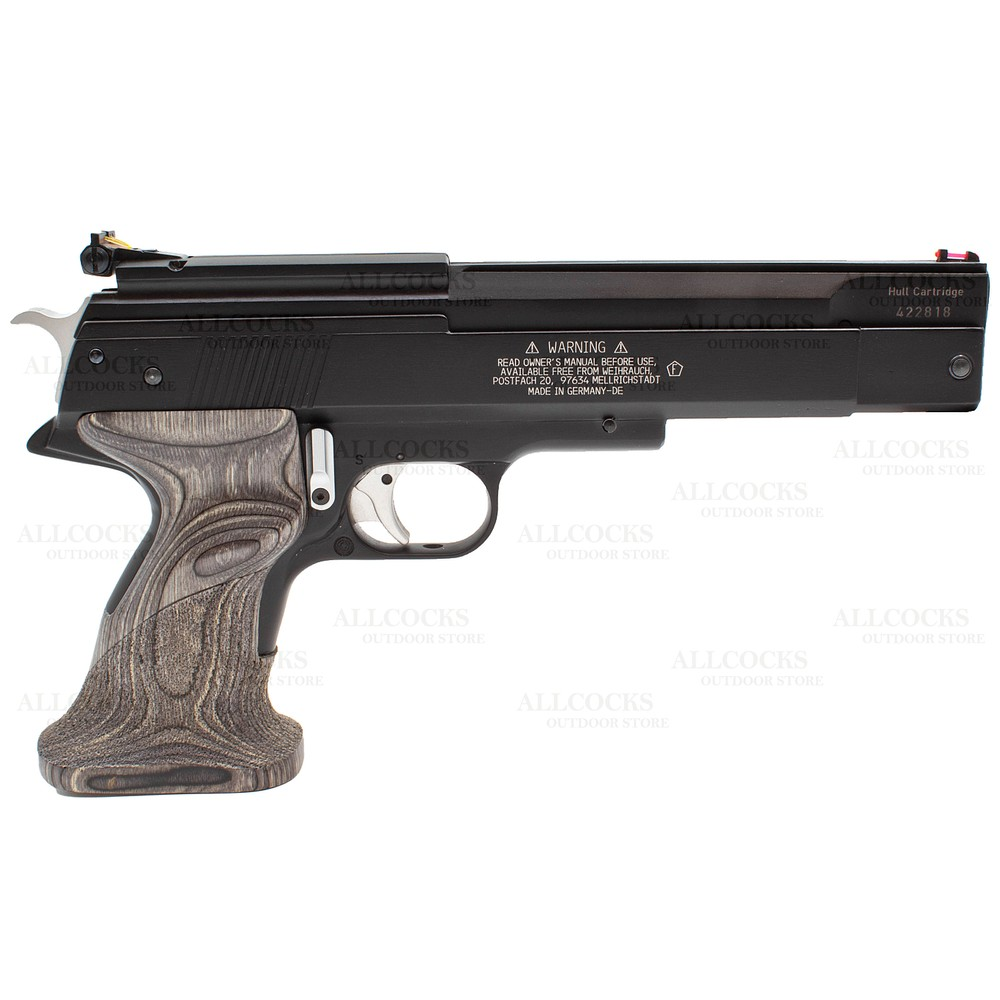 Weihrauch Pre-Owned  HW45 Black Star Air Pistol - .22 Laminate