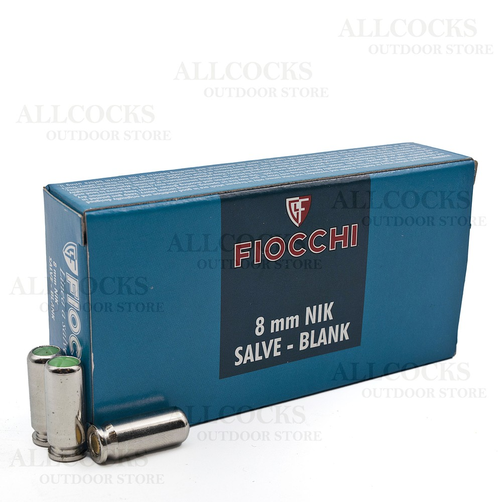 Fiocchi Blanks - 8mm NIK SALVE