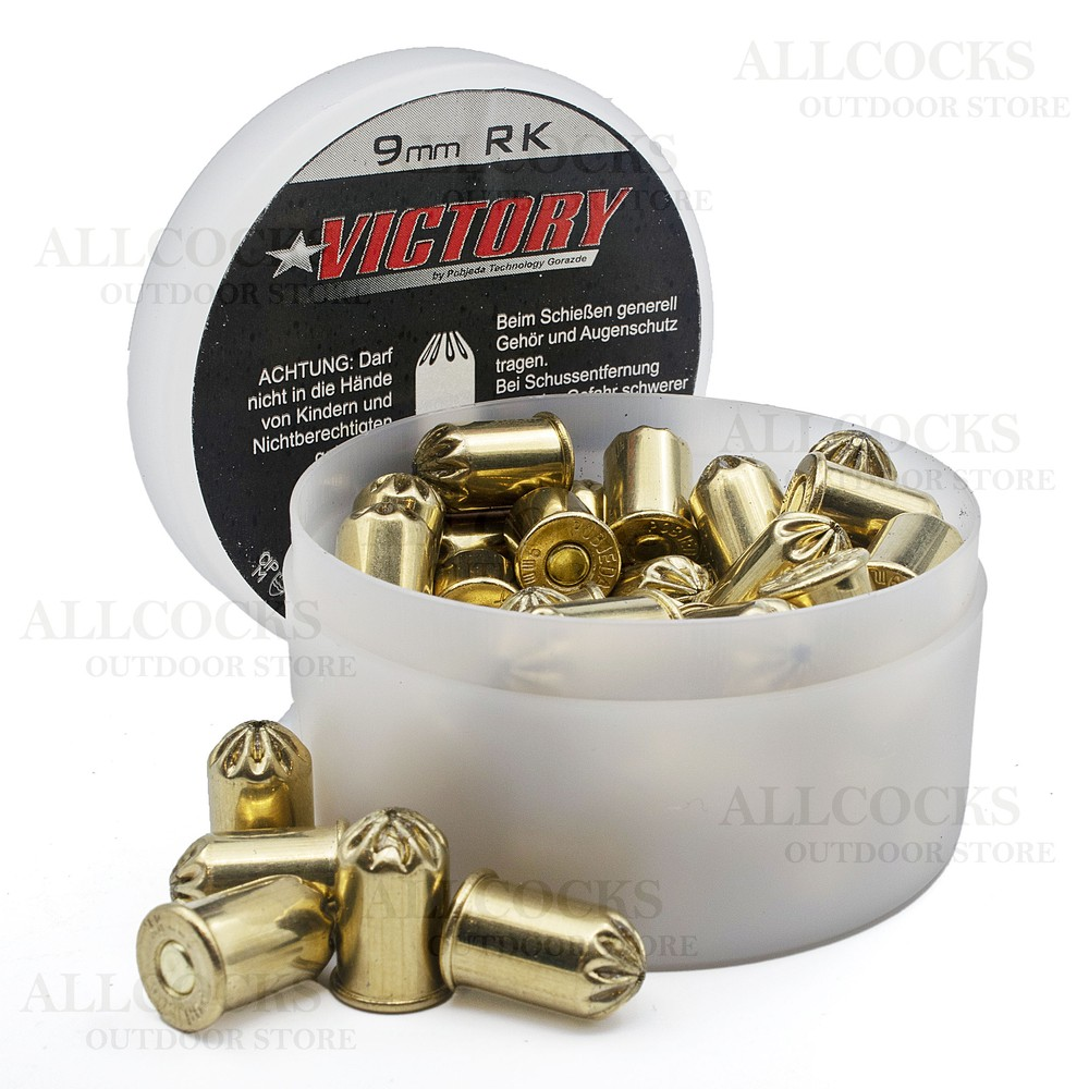 Victory Blanks - .38 Cal / 9mm RK