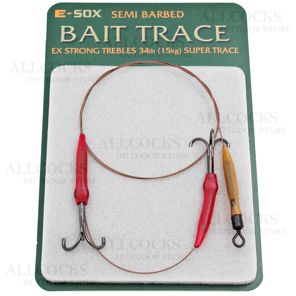 Drennan E-Sox Bait Trace - Semi-Barbed