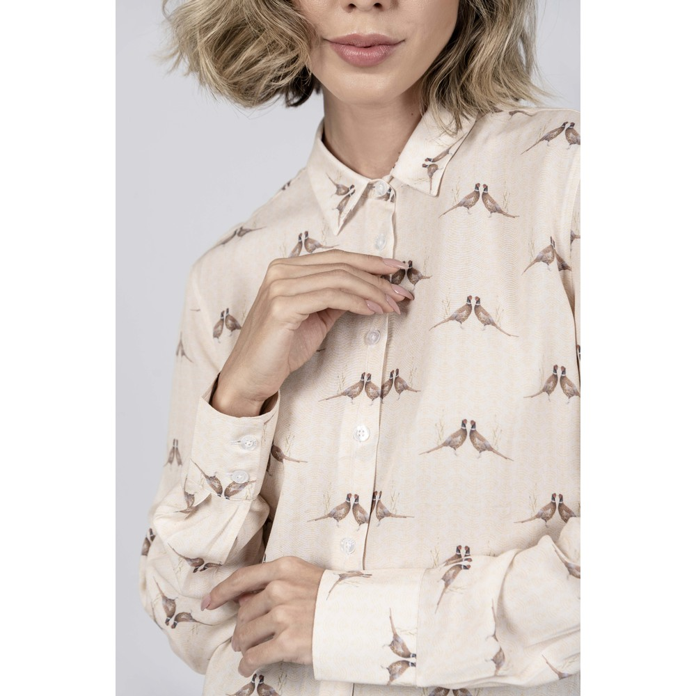 Hartwell Lydia Ladies Shirt Kissing Pheasant