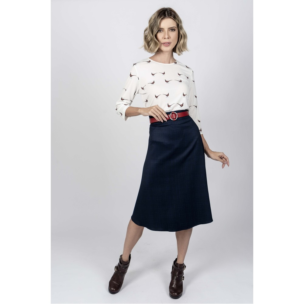 Hartwell Alice Ladies Shirt Double Pheasants