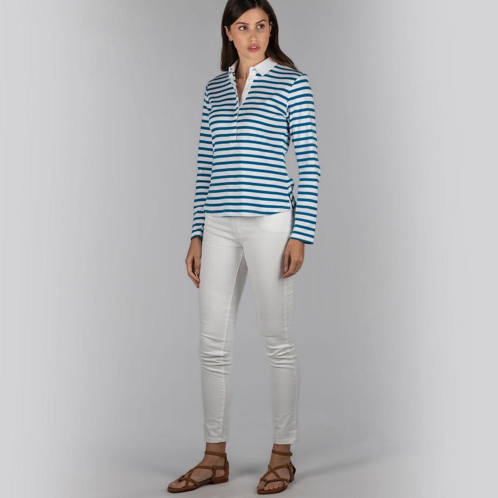Schoffel Sunny Cove Shirt Mykonos Stripe