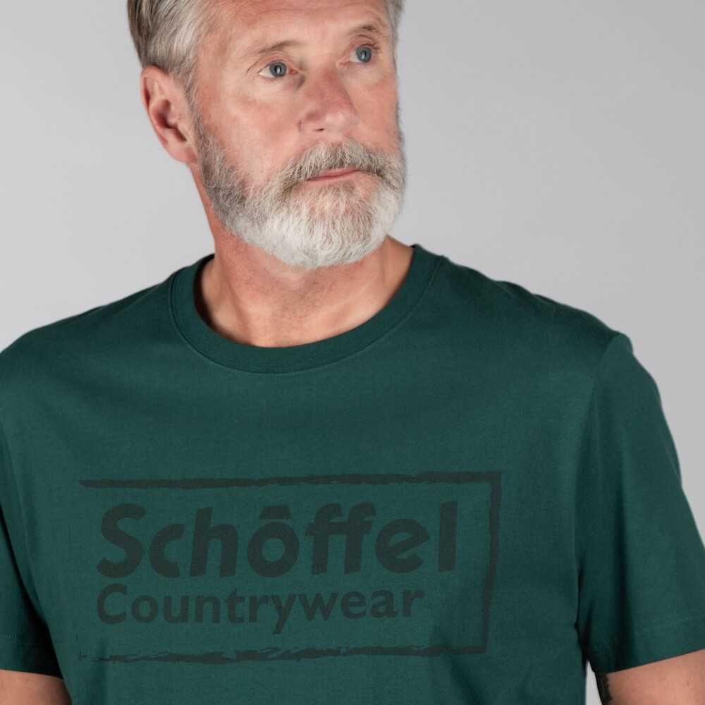 Schoffel Schoffel Heritage T-Shirt in Forest