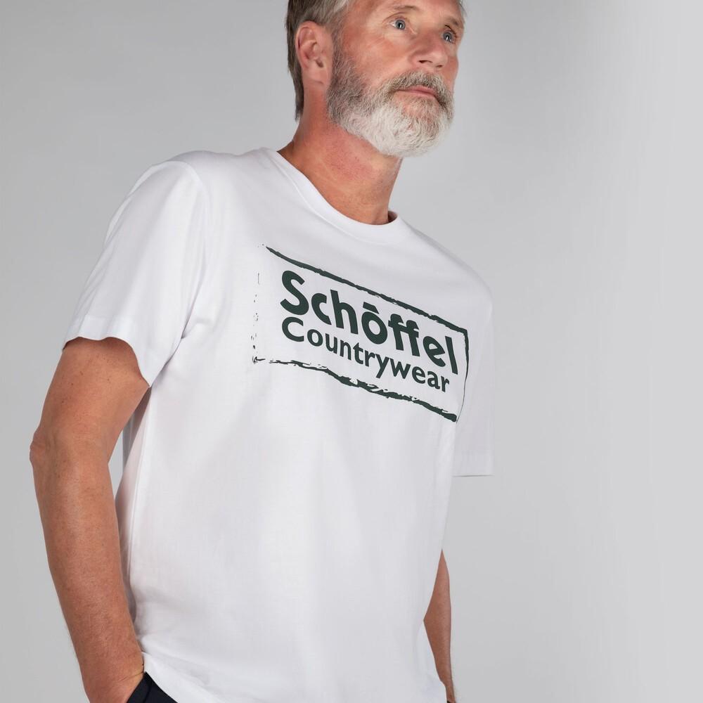 Schoffel Heritage T-Shirt White