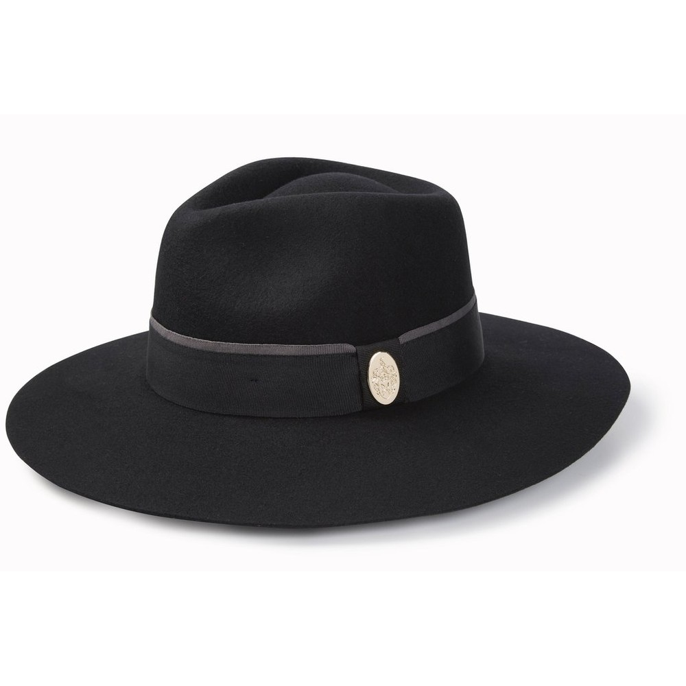 Hicks & Brown Hicks & Brown Oxley Fedora in Black