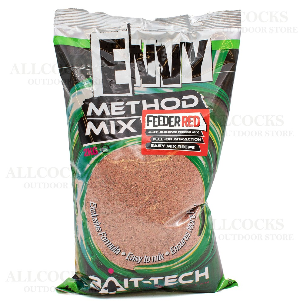 Bait-Tech Envy Feeder Red Method Mix