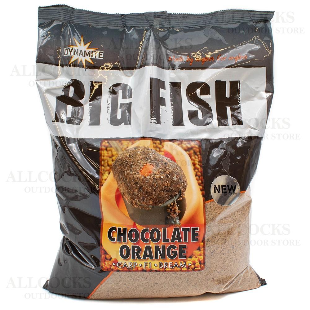 Dynamite Baits Big Fish Chocolate Orange Groundbait