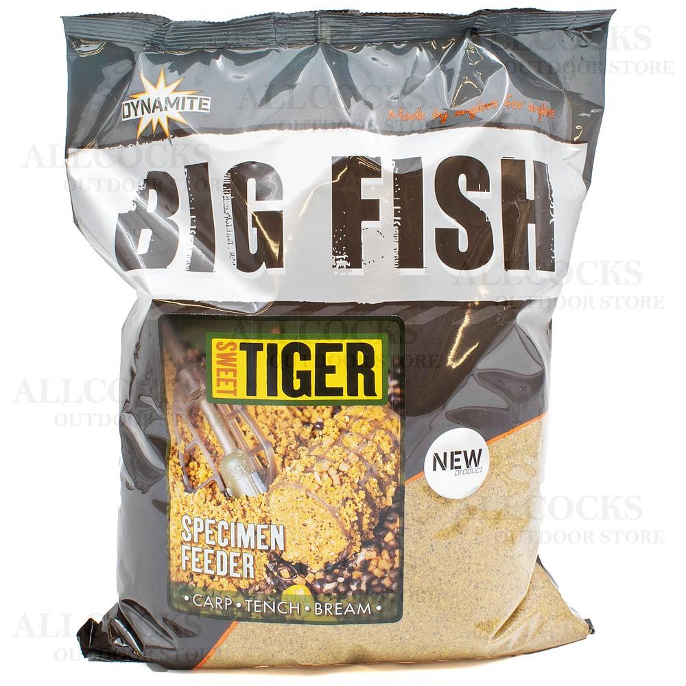 Dynamite Baits Big Fish Sweet Tiger Specimen Feeder Groundbait Yellow