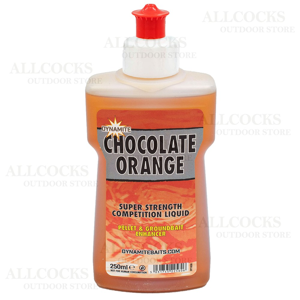 Dynamite Baits XL Liquid - Chocolate Orange Brown