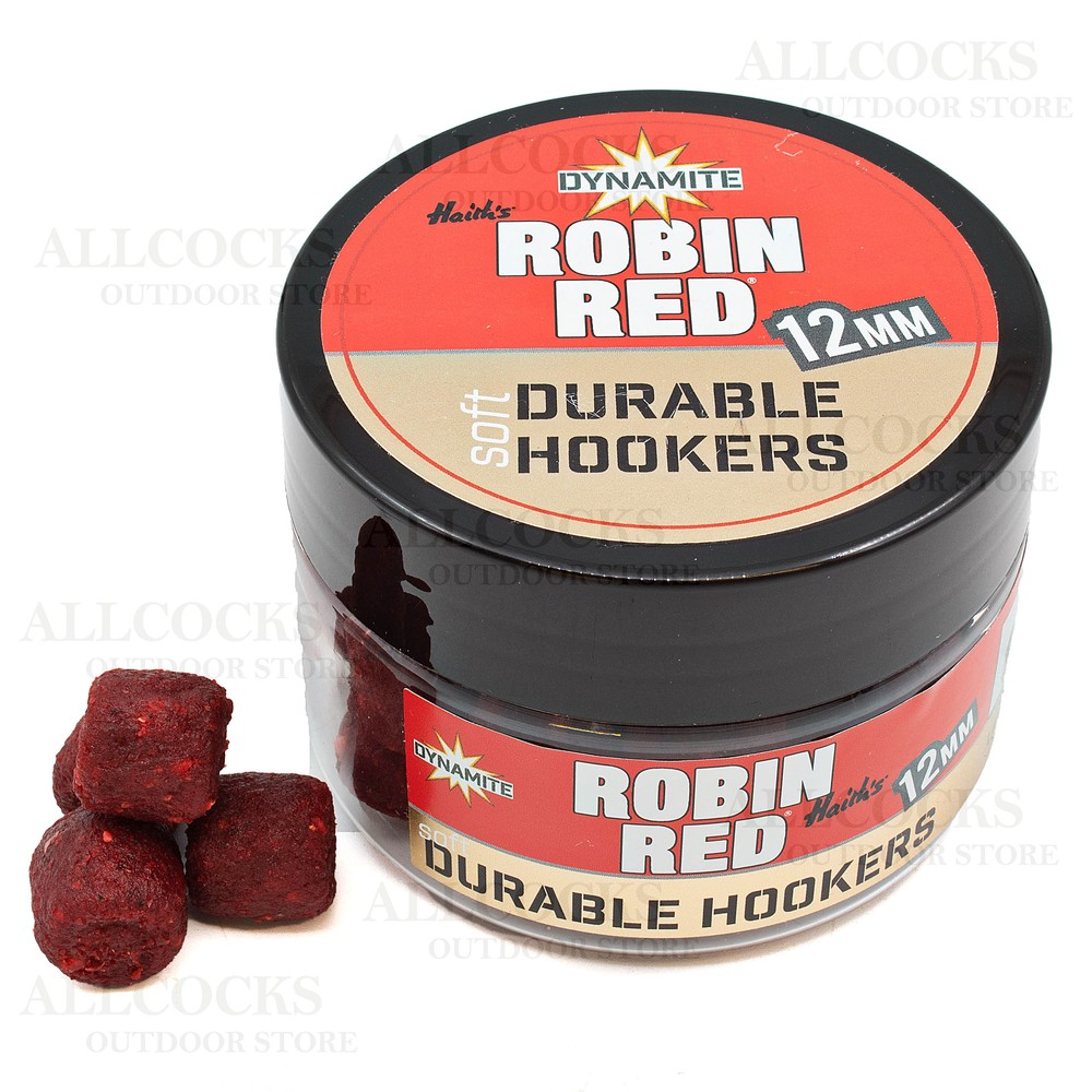 Dynamite Baits Durable Soft Hook Pellets Robin Red