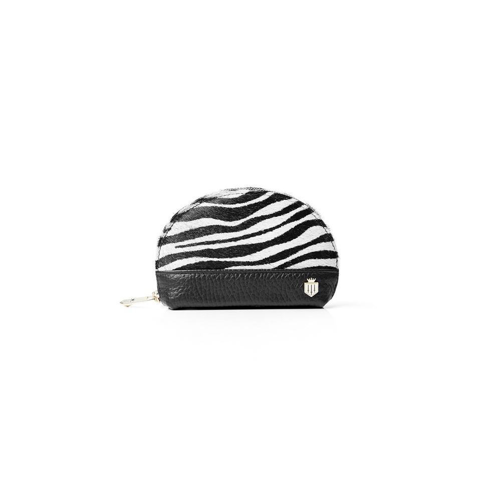 Fairfax & Favor Fairfax & Favor Chiltern Coin Purse - Zebra Haircalf