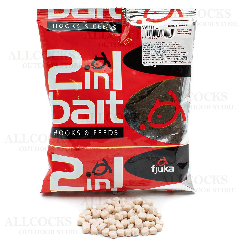 Fjuka Baits 2 in 1 Soft Hooker Pellets