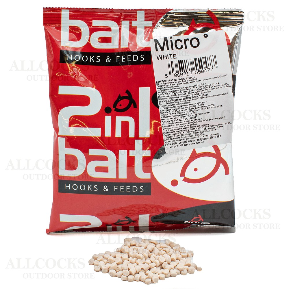 Fjuka Baits 2 in 1 Micro Soft Hooker Pellets