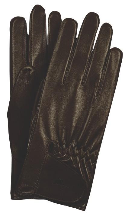 Laksen Laksen Paris Leather Gloves - Brown