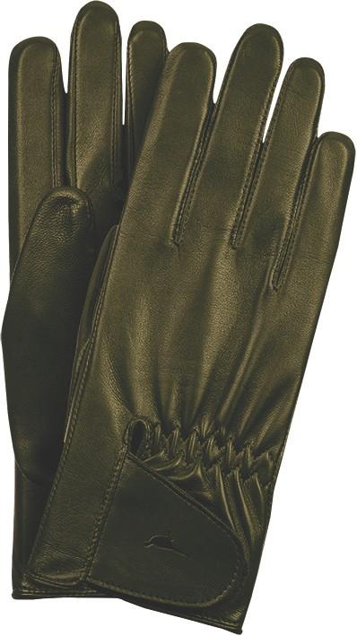 Laksen Laksen Paris Leather Gloves - Green