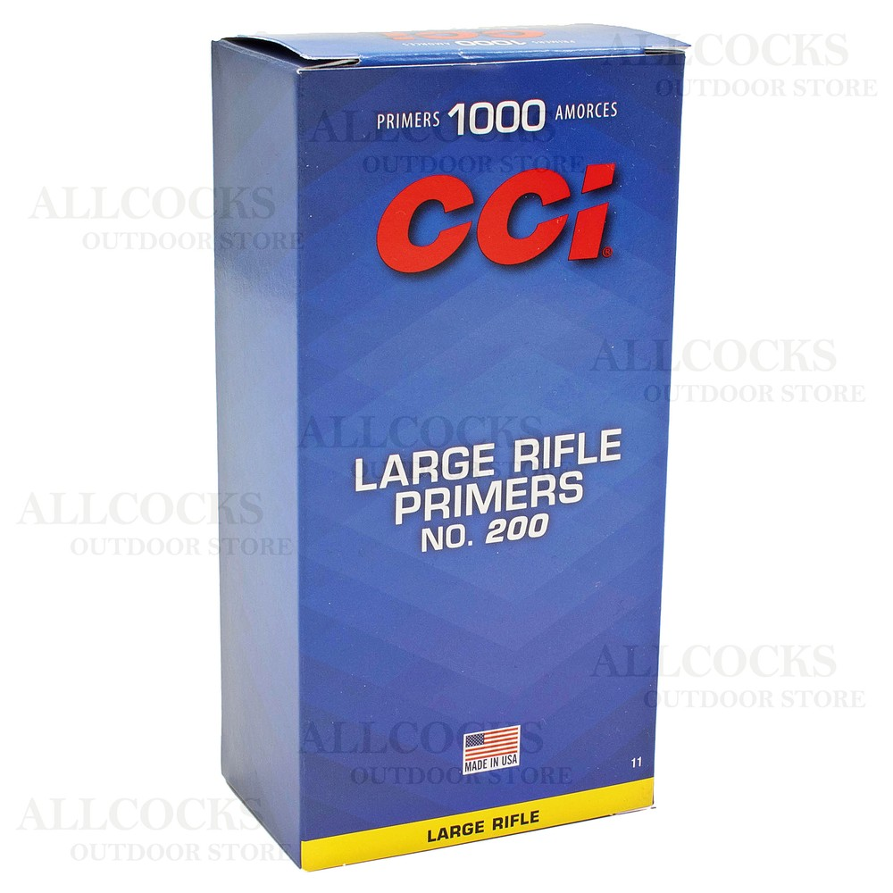 CCI Primers - #200 Standard Large Rifle - Pack of 1000