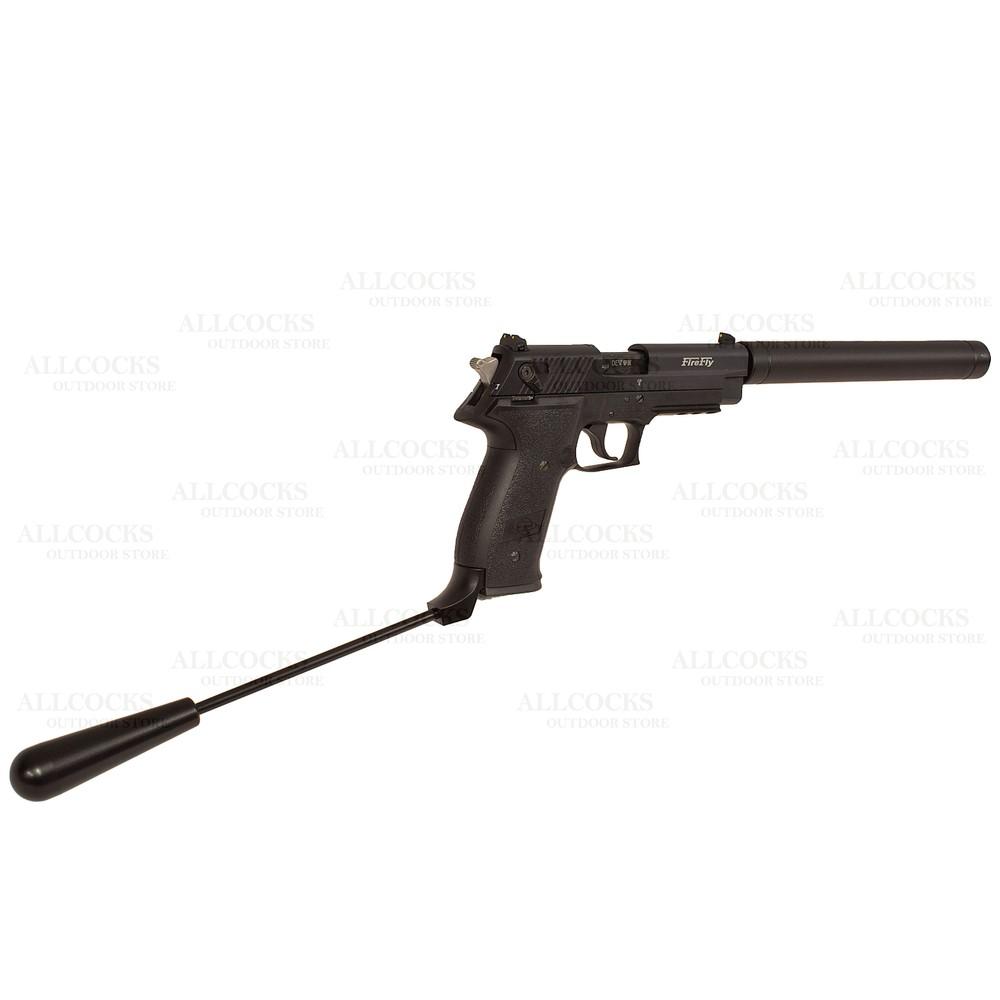 GSG FireFly Long Barrel Pistol - .22LR Black