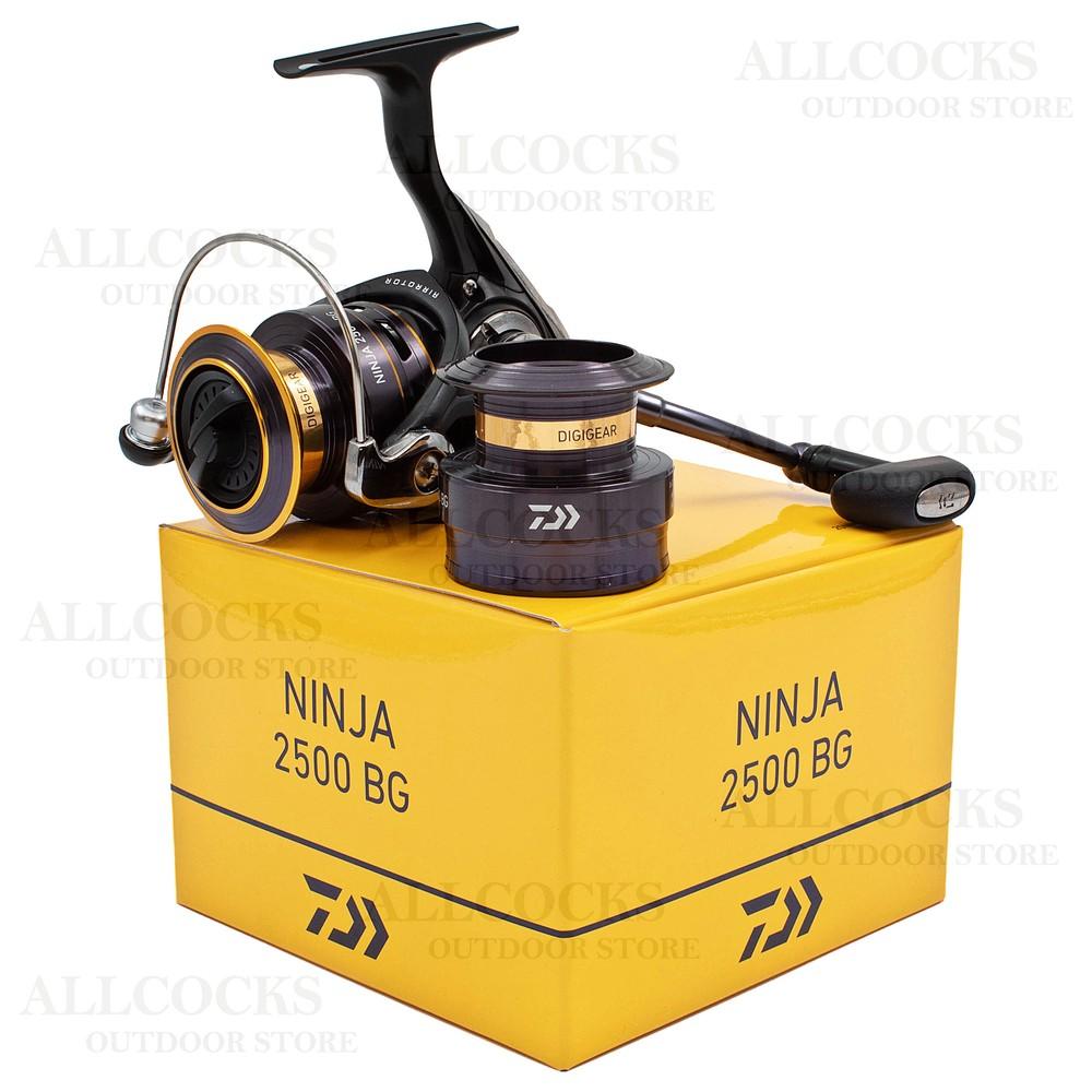 Daiwa 20 Ninja Reel - 2500BG Black/Gold