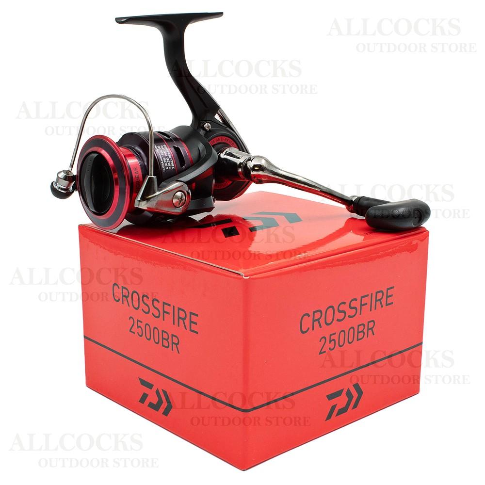 Daiwa 20 Crossfire Reel - 2500BR Black/Red