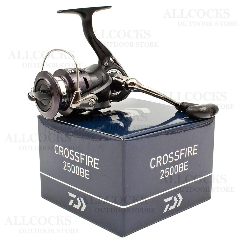 Daiwa 20 Crossfire Reel - 2500BE Black