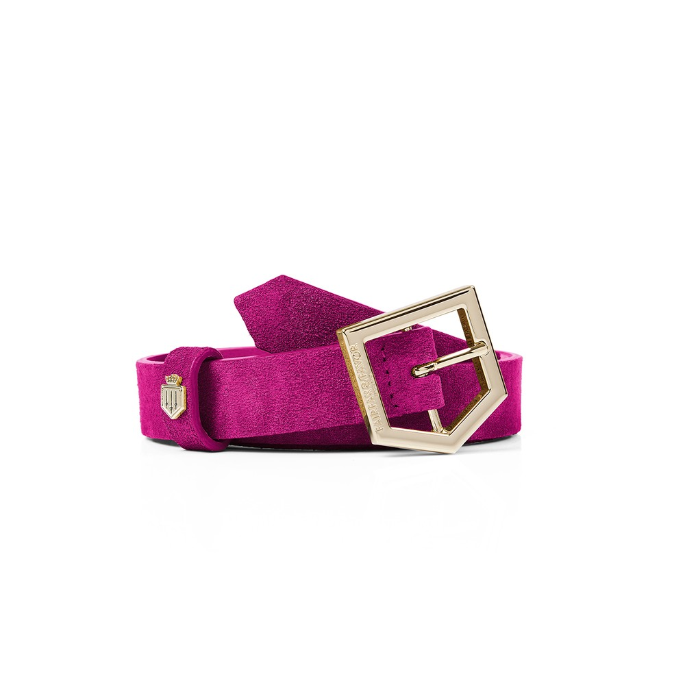 Fairfax & Favor Sennowe Belt Fuchsia
