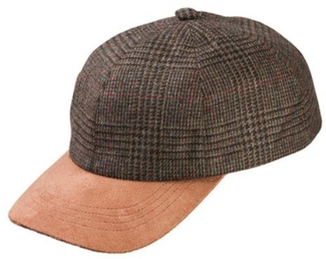 Olney Sport Tweed Cap - Small/Medium