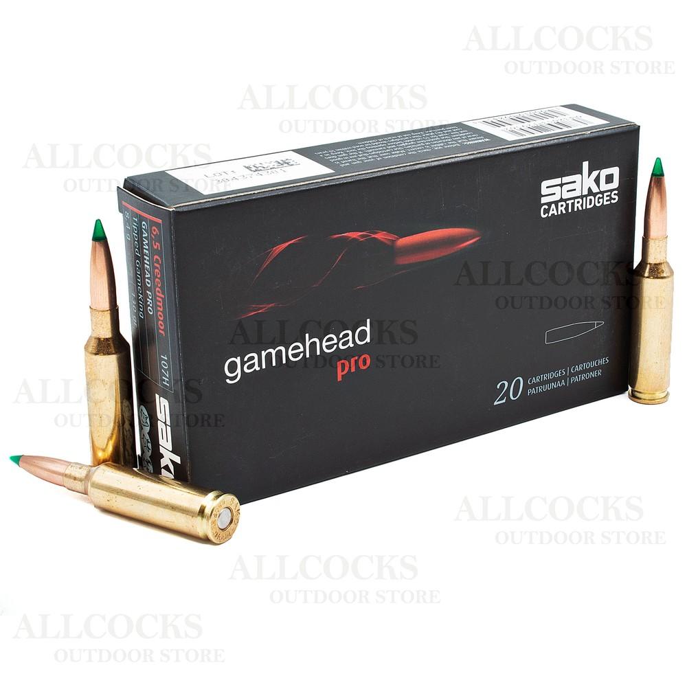 Sako 6.5 Creedmoor Ammunition - 130gr - Gamehead Pro