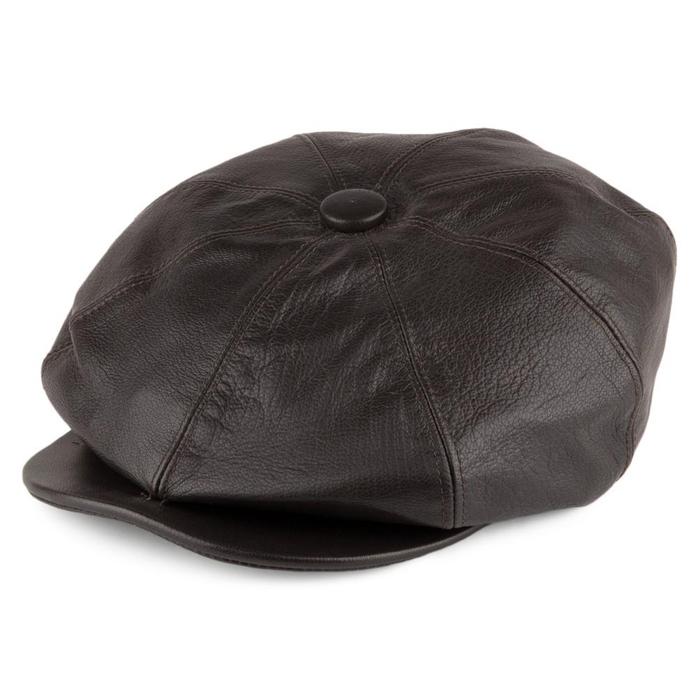 Olney Urban 2 8 Piece Leather Cap - Large Brown
