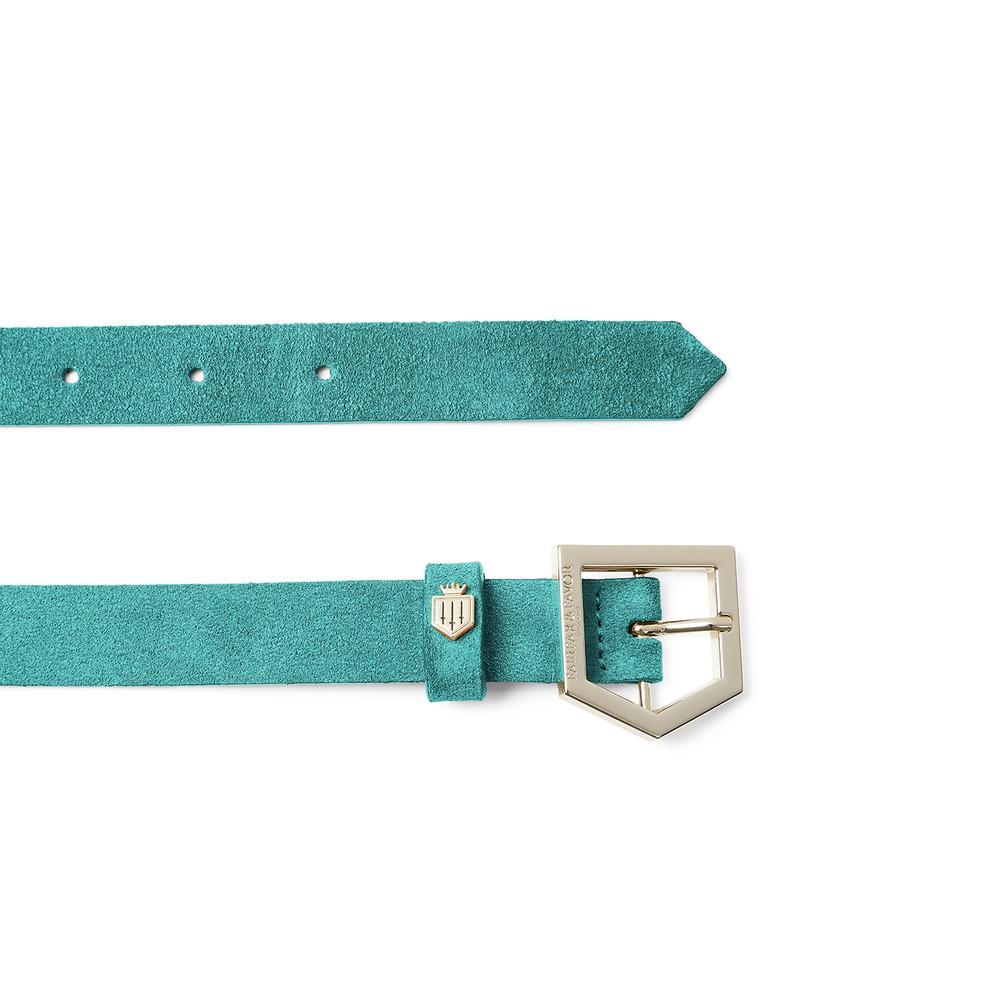 Fairfax & Favor Sennowe Belt Turquoise
