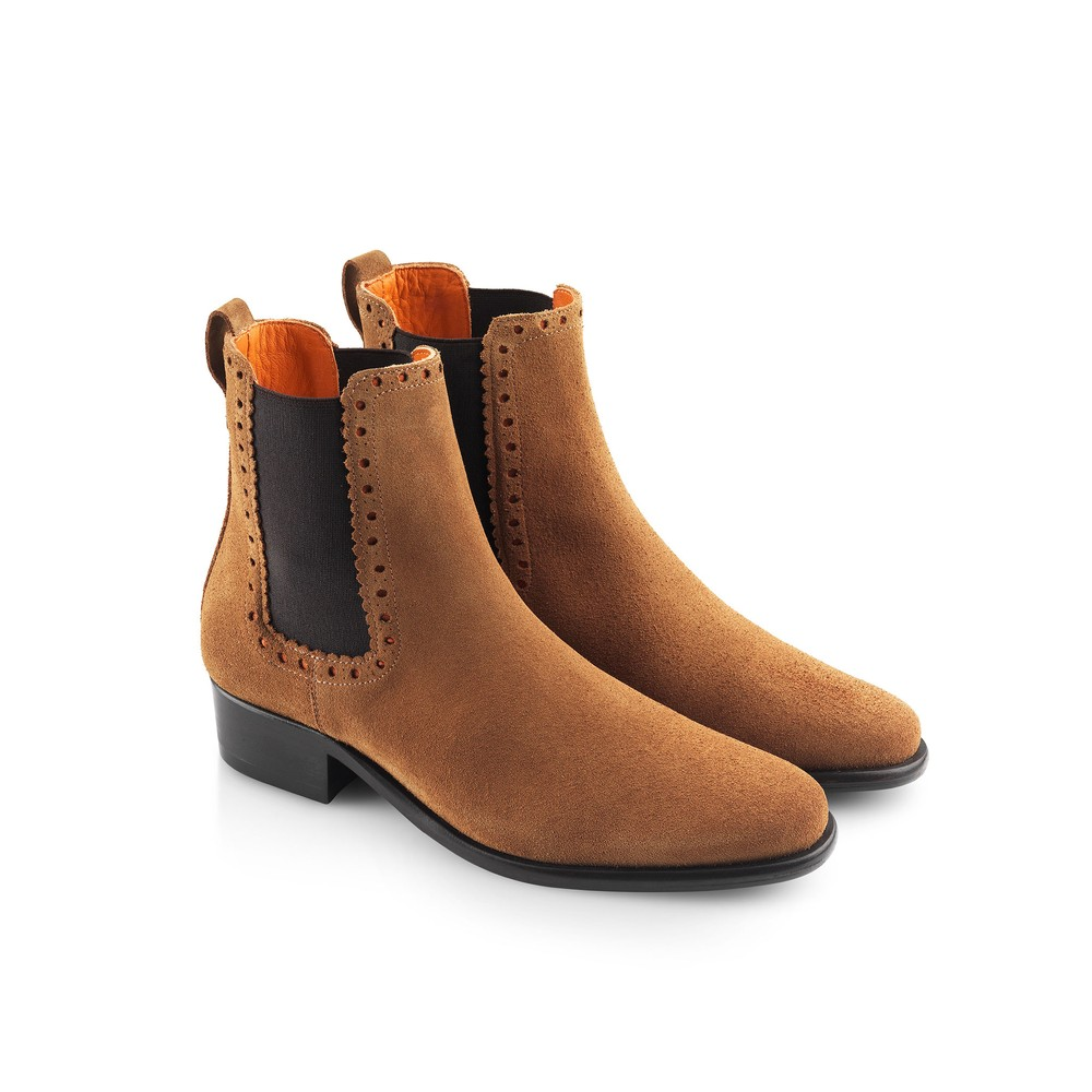 Fairfax & Favor Fairfax & Favor Brogued Chelsea Ladies Boot