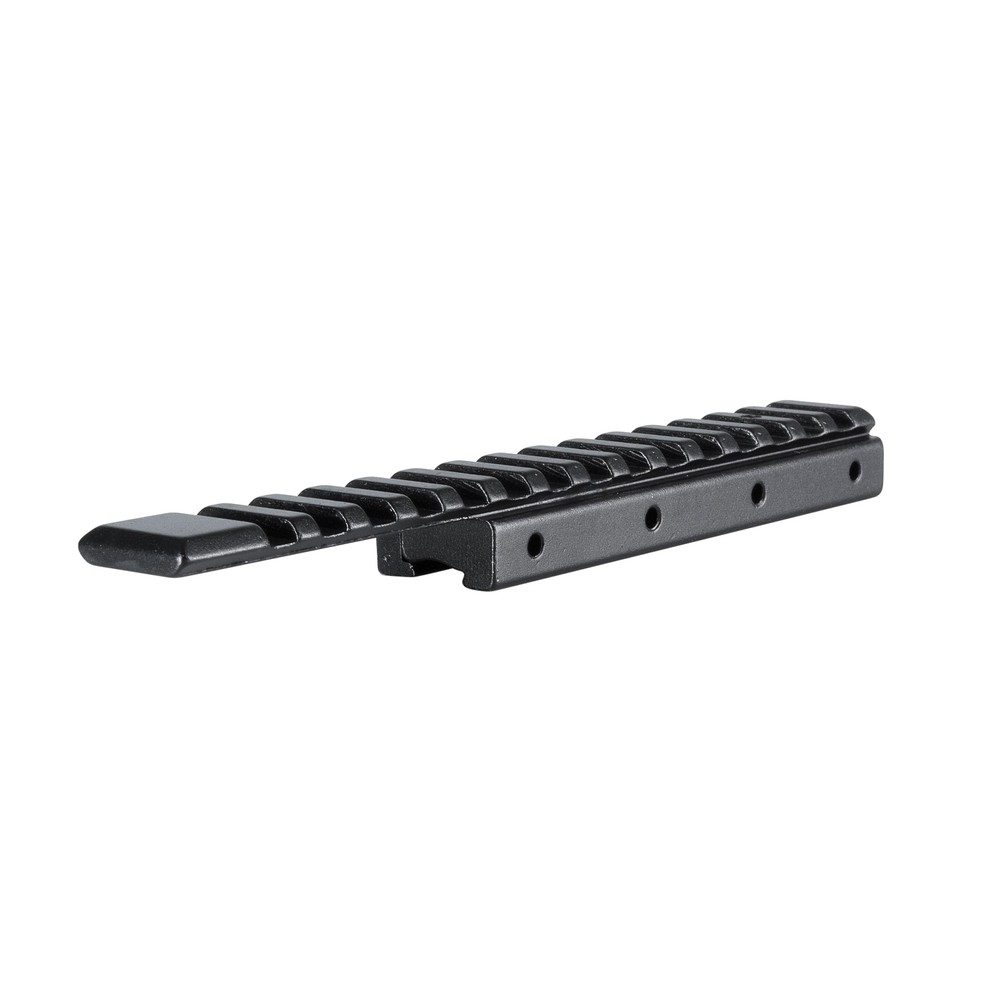 Hawke 11mm Dovetail to Weaver/Picatinny Extended Single Piece Rail Adapter Black