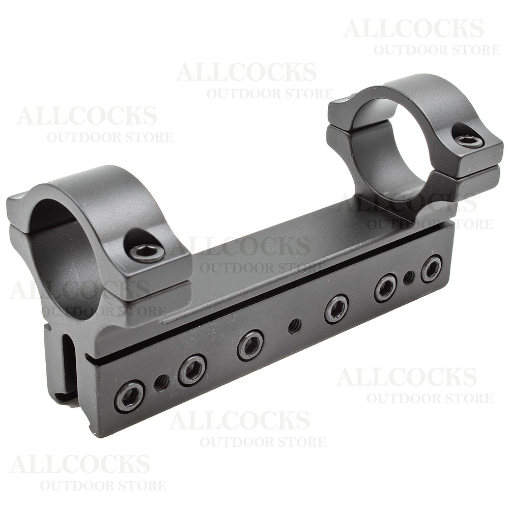 """BKL 4"""" Long Drop Compensated Dovetail Mount - 1"""" Tube"""
