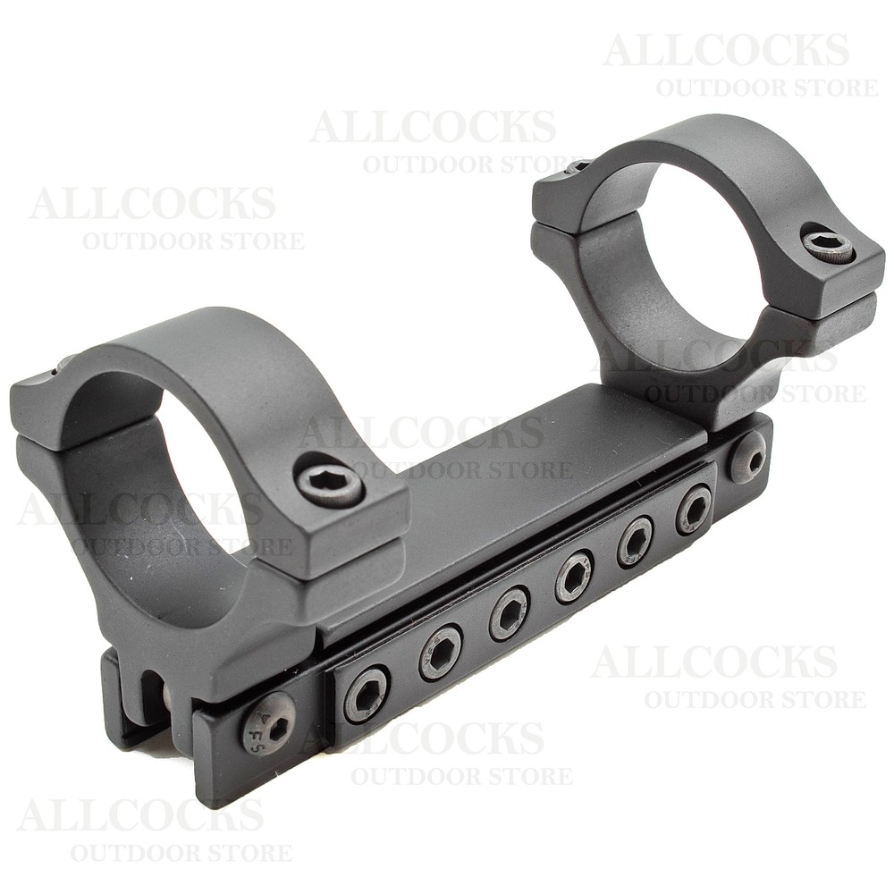 BKL Adjustable One Piece Scope Mount - 9-11mm Dovetail - 30mm Tube