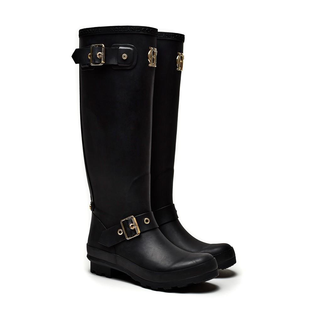 Holland Cooper Zip Chelsea Wellington Boots