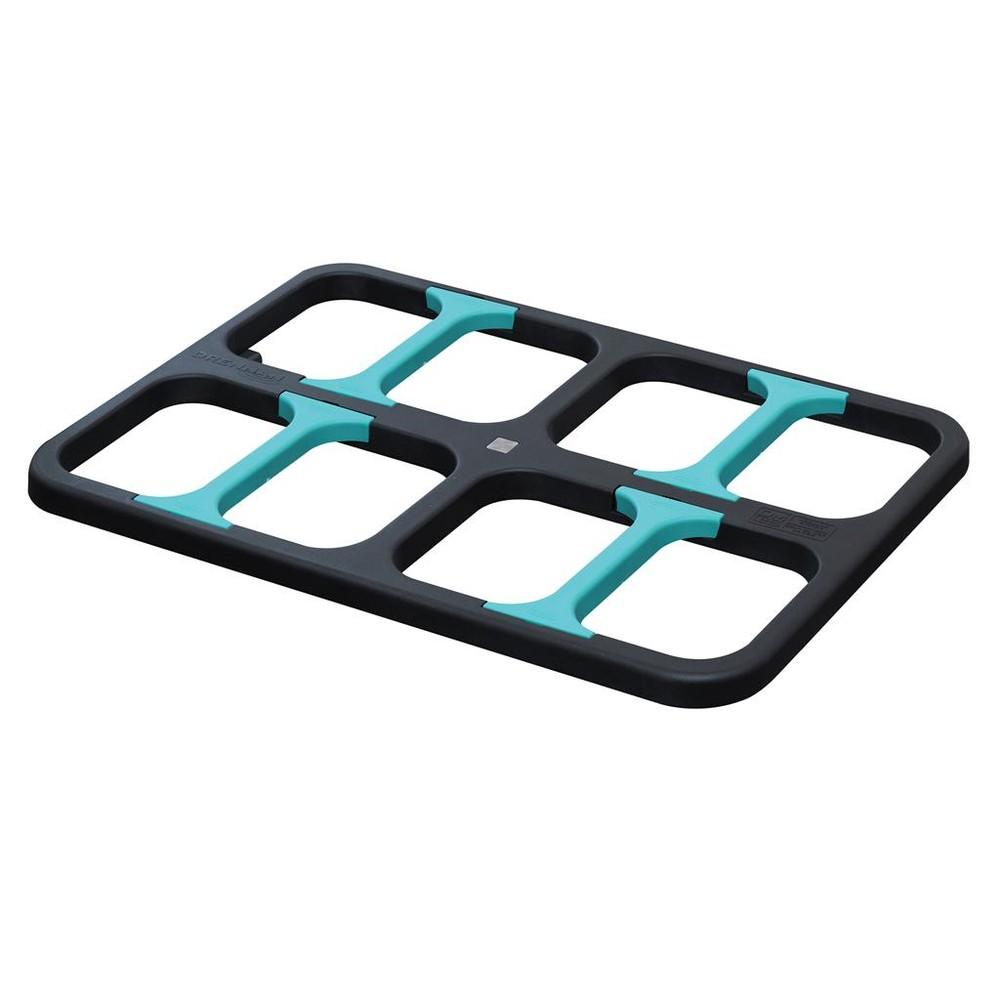 Drennan Adjustable Bait Waiter - Large Black/Aqua