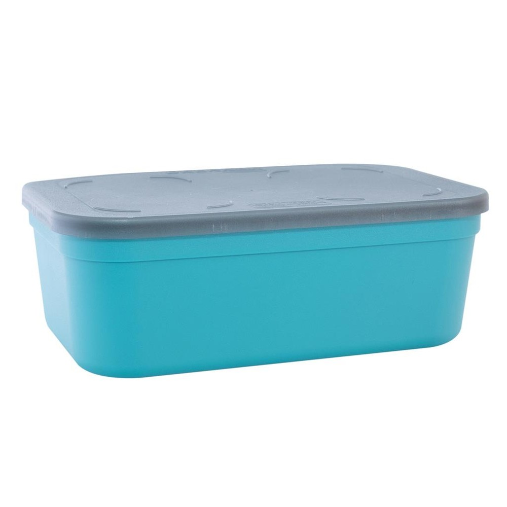 Drennan Bait-Seal Box - 3 Pint Grey/Aqua