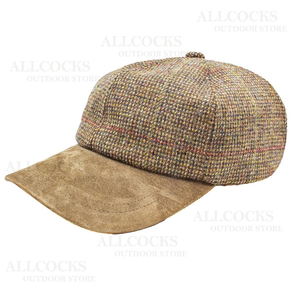 Olney Sport Tweed Cap - Large/XL Cheviot - 5002