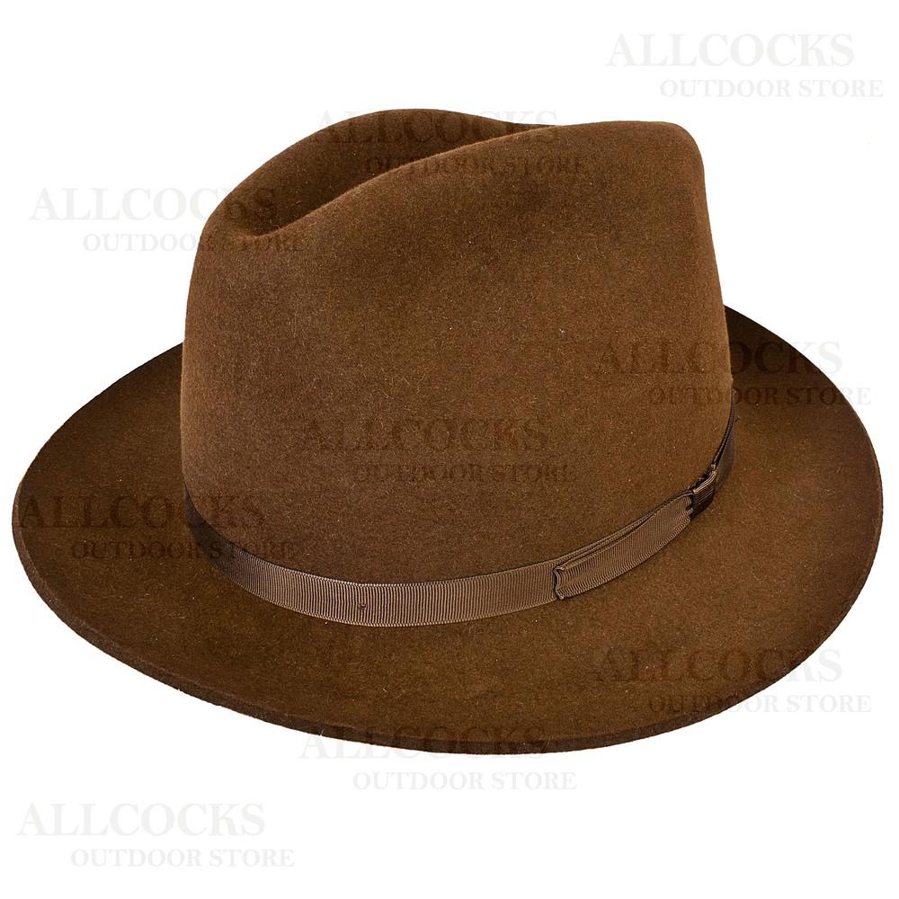 Olney Newbury Fur Felt Hat - 57cm