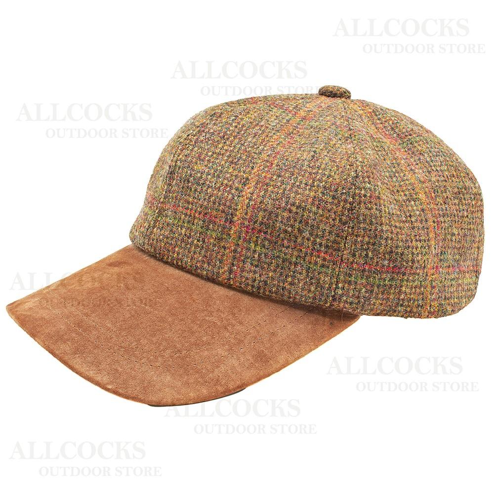 Olney Sport Tweed Cap - Large/XL Cheviot - 5016