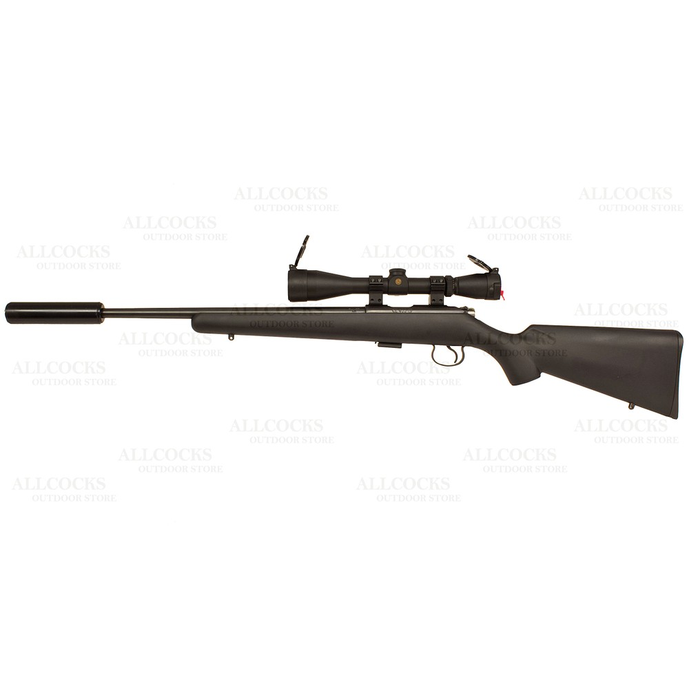 CZ Pre-Owned  455 American Synthetic Rifle - .22LR Black
