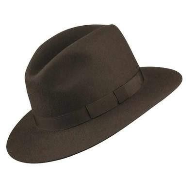 Olney Crushable Fur Felt Hat - Medium