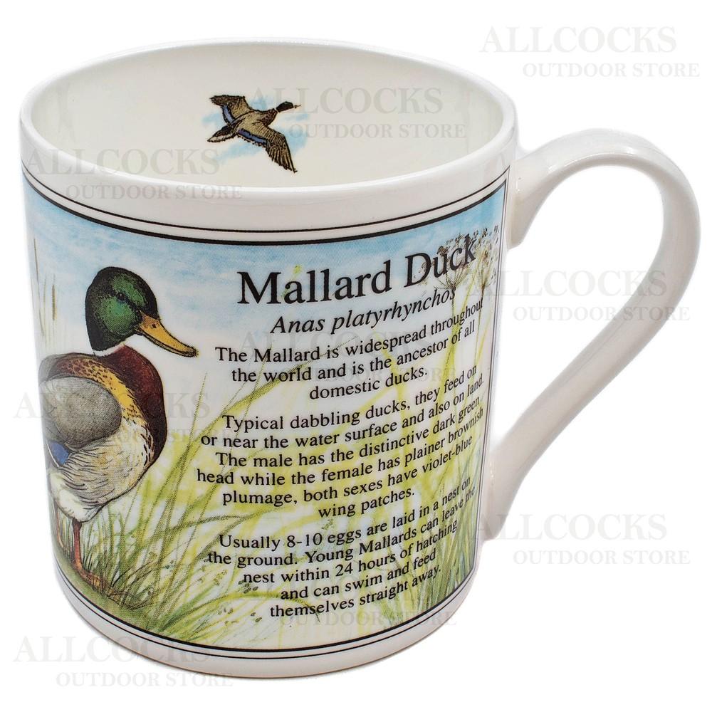 Ashley Fine China China Mug - Mallard Duck - White