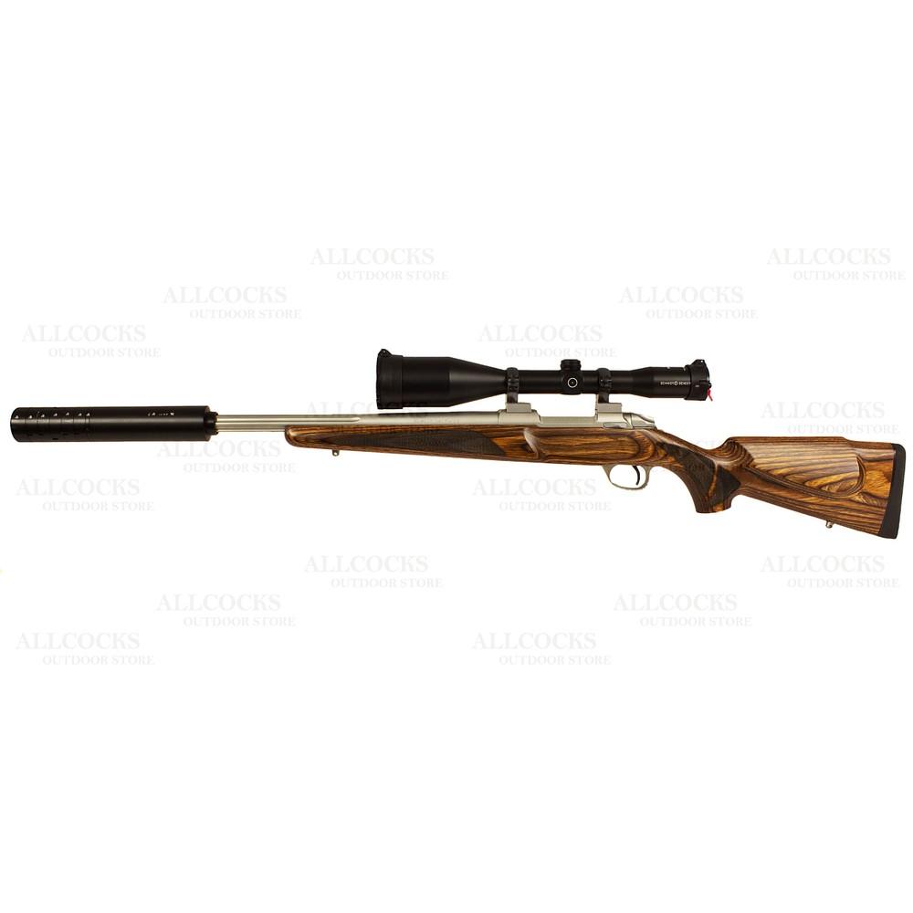 Sako Pre-Owned  85 S Varmint Laminate Stainless Rifle - .243