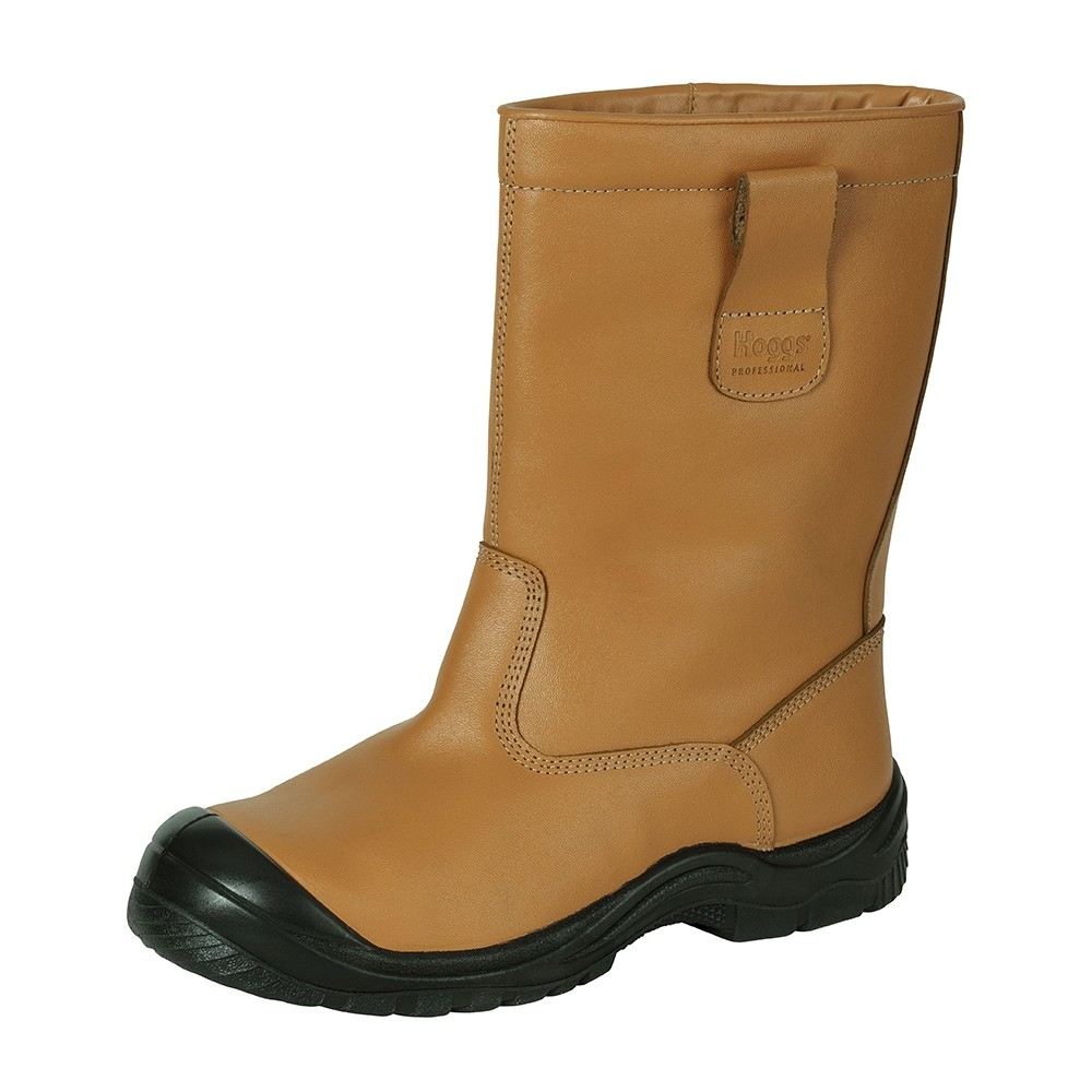 HOGGS OF FIFE Classic R1 Safety Boots Tan