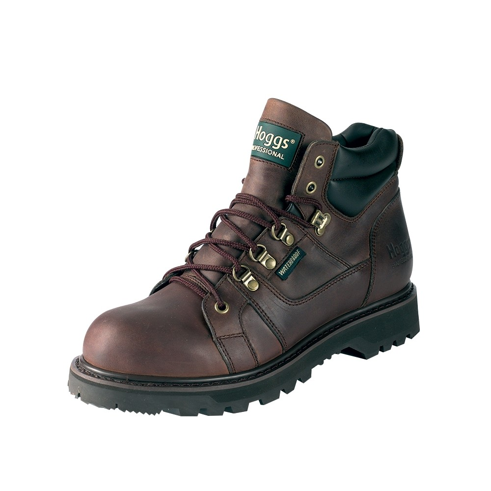 HOGGS OF FIFE GT3000-WNSL Lace-up Boots Dark Brown